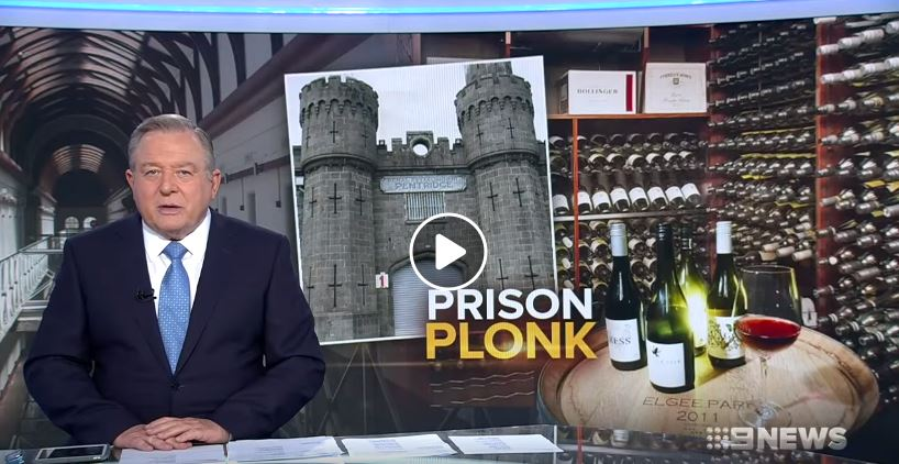 Prison plonk - Channel 9 NEWS