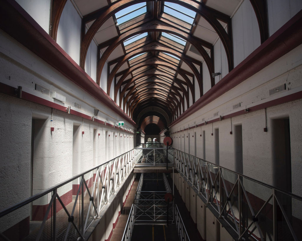 Melbourne's former Pentridge Prison now a luxury wine cellar