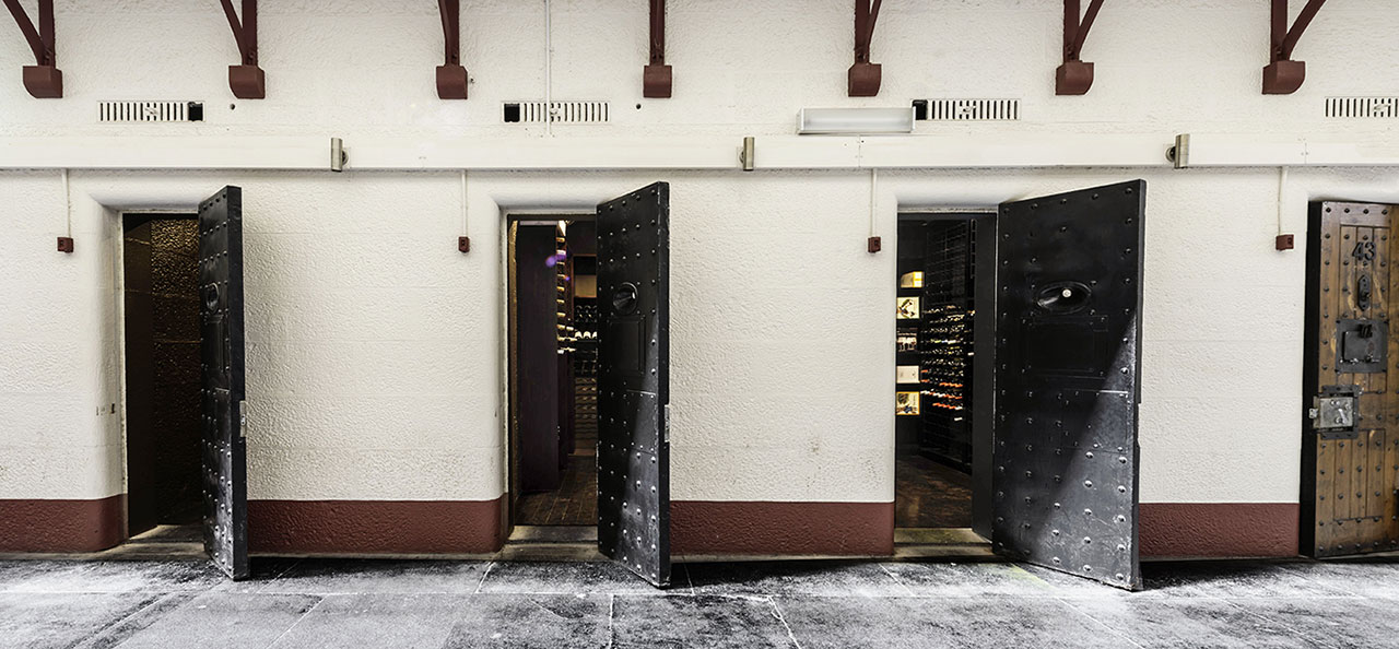 A unique wine cellar