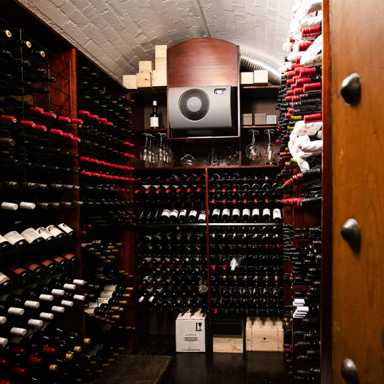 Your own private wine cellar